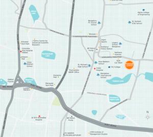 Rohan Upavan Location Map