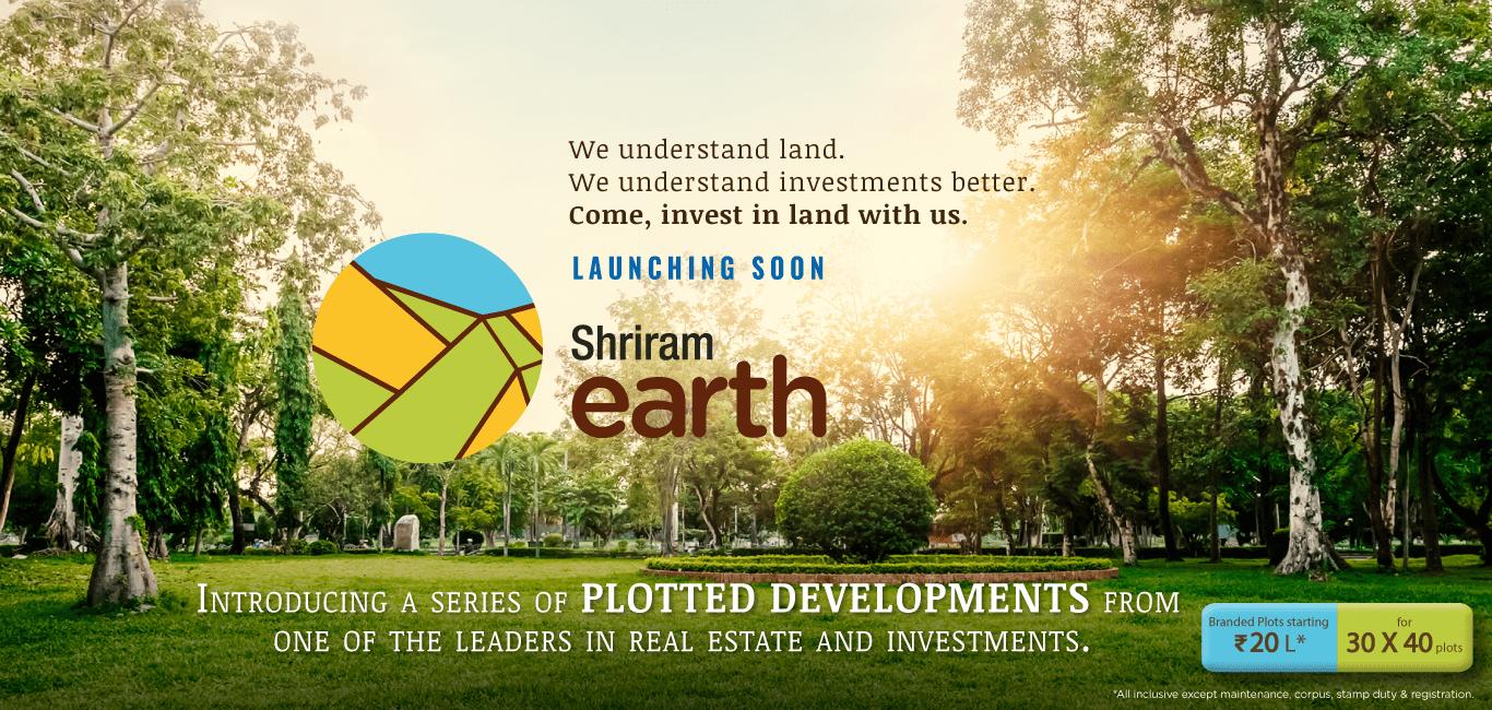 Shriram Earth Banner